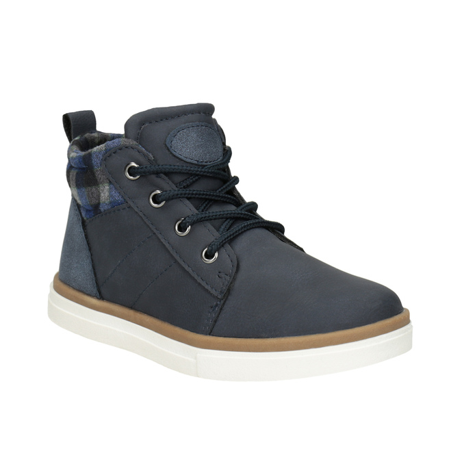 Children's High Top Shoes mini-b, blue , 291-9172 - 13