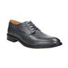 Men's blue leather shoes bata, blue , 826-9913 - 13