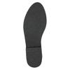 Brushed leather over-knee high boots bata, black , 593-6605 - 19