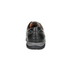 Men's leather sneakers bata, black , 824-6921 - 17