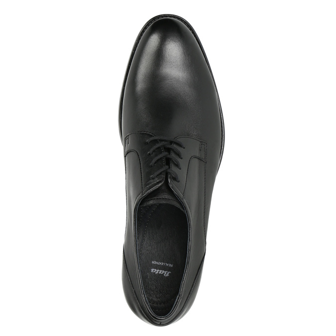 Men's Derby shoes bata, black , 824-6618 - 26