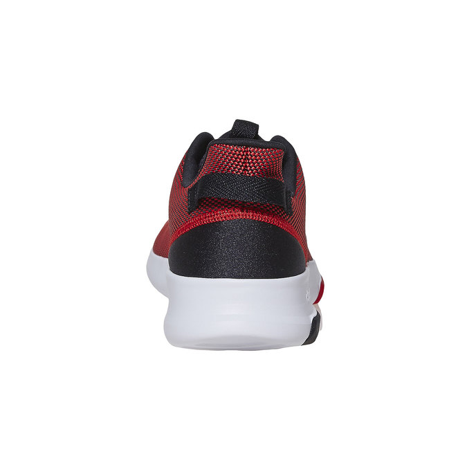 Men's red sneakers adidas, red , 809-5201 - 17