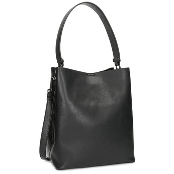 Black ladies Hobo handbag bata, black , 961-2173 - 13