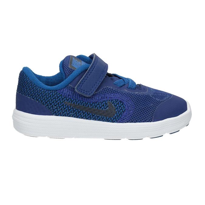 Blue Children's Sneakers nike, blue , 109-9132 - 26