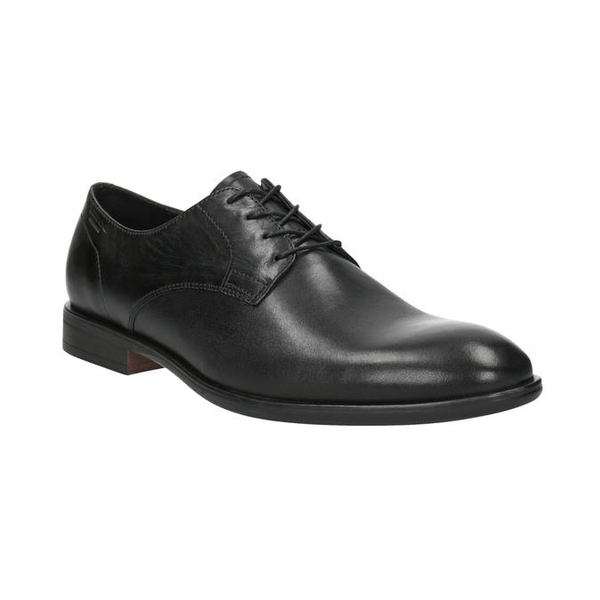 Men's Leather Lace-Ups vagabond, black , 824-6026 - 13