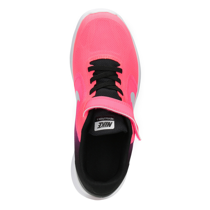 Pink Girls' Sneakers nike, red , 309-5132 - 15