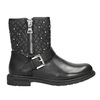 Girls' Zipper High Boots mini-b, black , 291-6396 - 26