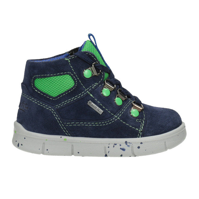 Children's ankle boots, blue , 113-9029 - 26