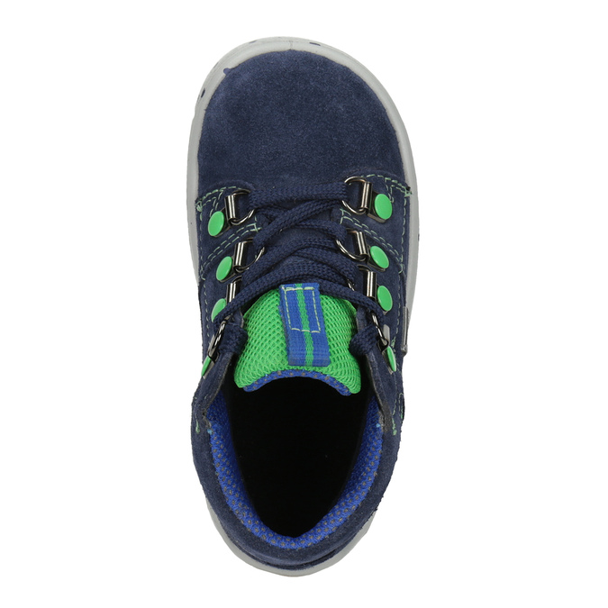 Children's ankle boots superfit, blue , 113-9029 - 15