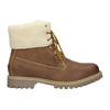Men's Ankle Boots with Fleece weinbrenner, brown , 896-4670 - 26
