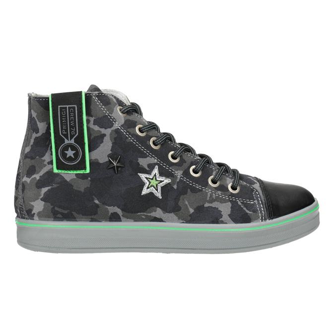 Children's ankle sneakers primigi, gray , 413-2008 - 16