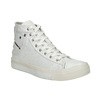 White ankle sneakers diesel, white , 501-6743 - 13
