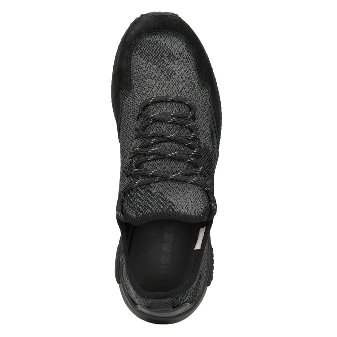 Ladies' sporty sneakers diesel, black , 509-6760 - 17