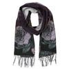 Ladies' scarf with floral pattern bata, violet , 909-9643 - 13