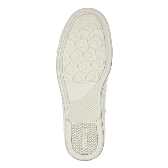 White ankle sneakers diesel, white , 501-6743 - 19