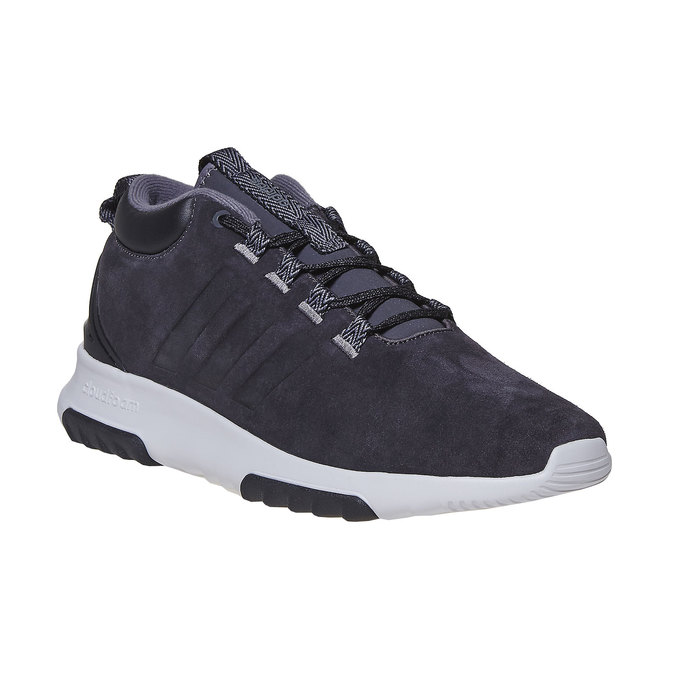 Men's Leather Sneakers adidas, black , 803-6202 - 13