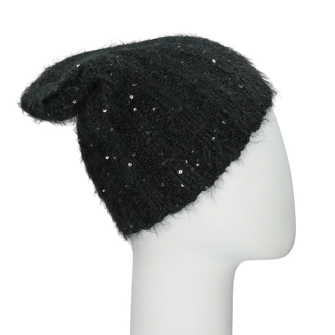 Hat with Sequins bata, 909-0686 - 26
