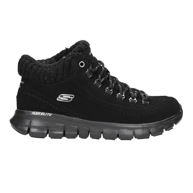 Ladies' ankle boots skechers, black , 501-6314 - 16