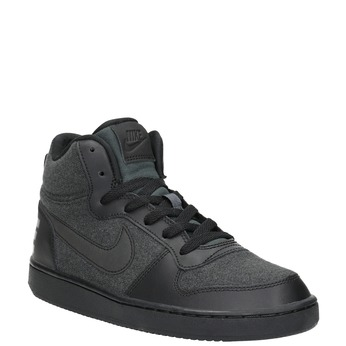 Children's High-Top Sneakers nike, gray , 401-2405 - 13