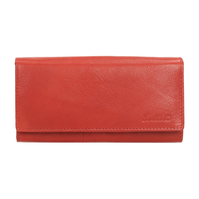 Ladies' red leather purse, red , 944-3203 - 26