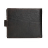 Men's leather wallet bata, brown , 944-4202 - 16