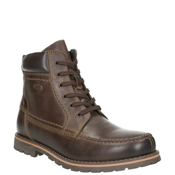 Men's Ankle Boots bata, brown , 896-4640 - 13
