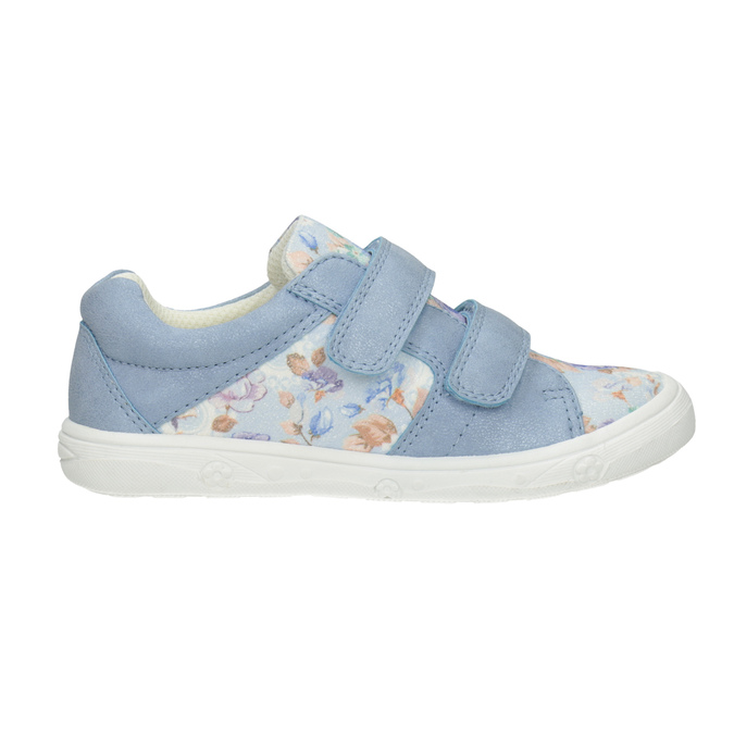 Kids' blue sneakers with a pattern mini-b, 221-9215 - 26