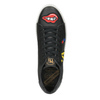 Casual black sneakers with patches north-star, black , 541-9602 - 15
