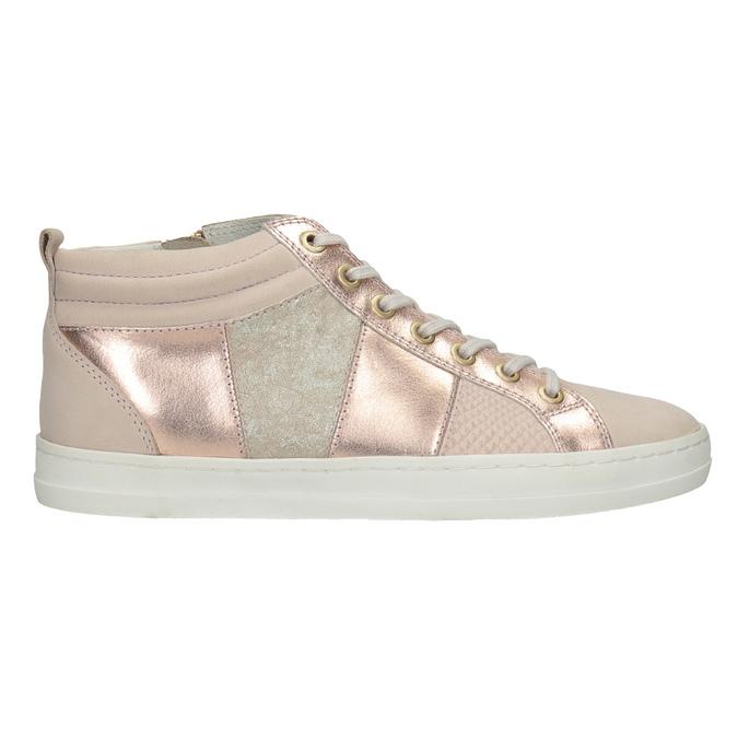 Ladies' high-top sneakers bata, pink , 546-5608 - 26