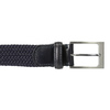 Men's textile belt bata, blue , 959-9217 - 26