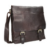 Men's Leather Bag bata, brown , 964-4234 - 13